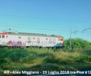 VIDEO | La E652 in corsa solitaria tra Pisa e Livorno