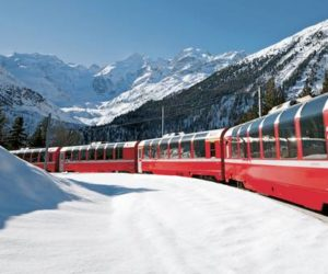 "VIDEO | Il viaggio sul ""Bernina Express"": da Tirano a St. Moritz in Svizzera"