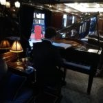 Interno salotto Venice Simplon Orient Express (Alex Miggiano)